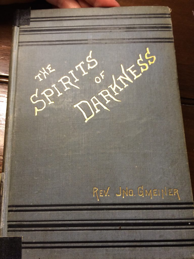 spirits of darkness carl seige exorcism